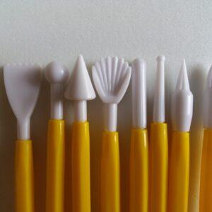 Cake/Fondant Decoration Tools – Set of 8 Pieces