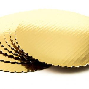 Cake Base Sheet / Cake Board- Round- 8 Inch for Half Kg Cake