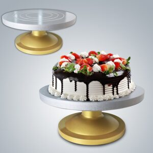Cake Turntable Fiberglass Heavy Duty- Big