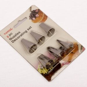 Icing Nozzles -Pack of 6