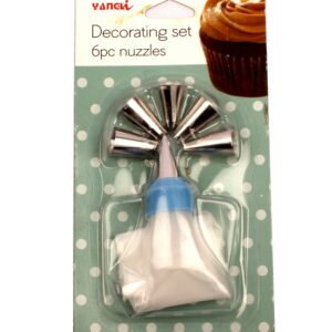 Icing Nozzles with Coupler – Pack of 6
