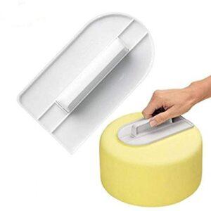 Plastic Cake Smoother, Leveler – Single