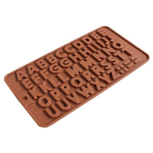 Silicone Chocolate Alphabet Mould – A to Z