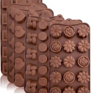 Silicone Chocolate Mould – Different Designs