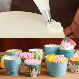 Piping Icing Bags- Pack of 100- Plastic, Large