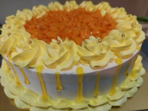 Read more about the article सोप्या पद्धतीने बनवा मँगो केक. आंब्याचे तुकडे वापरून करा छान सजावट