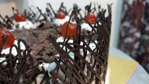 Read more about the article एव्हरग्रीन ब्लॅक फॉरेस्ट केक आणि सुरेख लेसचे डिझाईन !