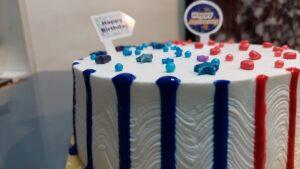 Read more about the article अँनिव्हर्सरी व बर्थडे कॉम्बो थीम सोपा आणि आकर्षक रोझ फालुदा केक !