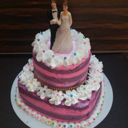 two tier wedding cake4
